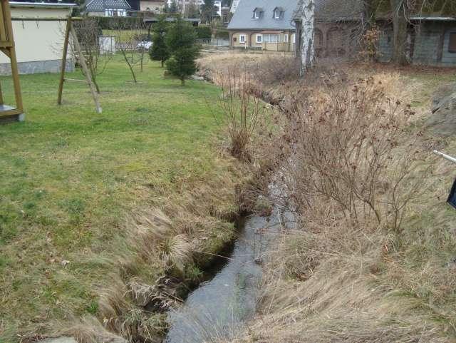 Schadenbeseitigung des Hochwassers von 2013 in Ebersbach- Neugersdorf - Grundstücksböschung vorher