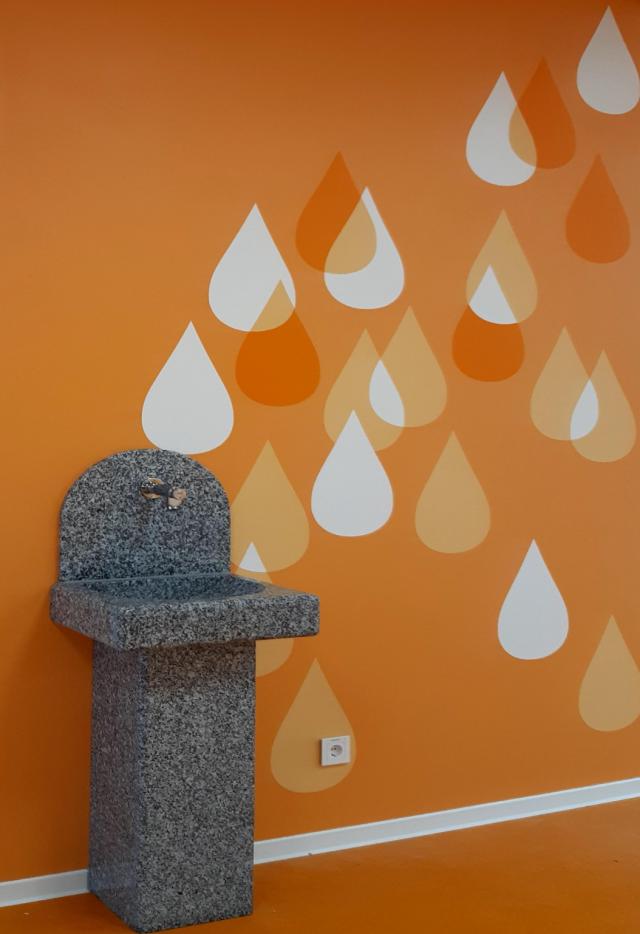Freie Oberschule Weissenberg - Trinkwasserbrunnen