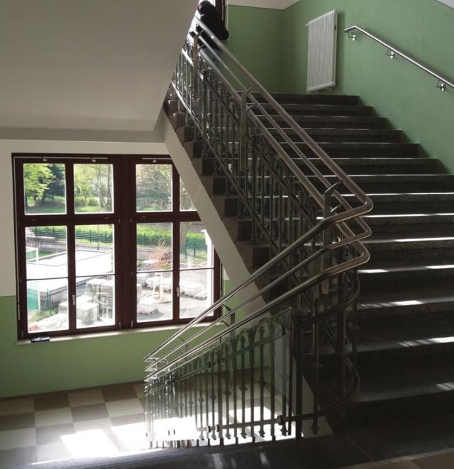 Schliebenschule Zittau - Treppenhaus