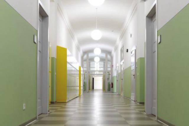 Schliebenschule Zittau - Farbkonzept im historischen Altbau