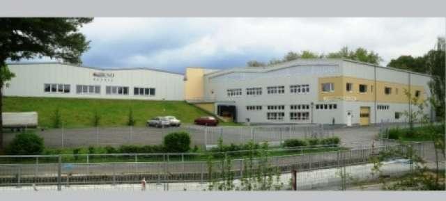 KSO-Textil GmbH - Produktionshalle und 2-geschossige Lagerhalle