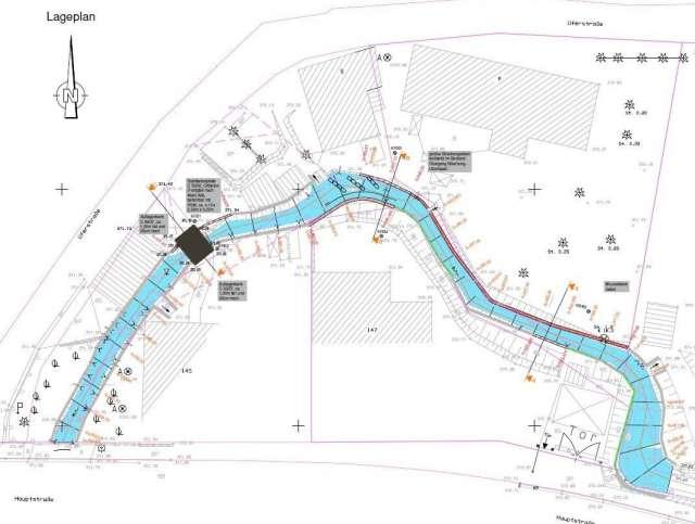 Schadenbeseitigung des Hochwassers von 2013 in Ebersbach- Neugersdorf - Lageplan