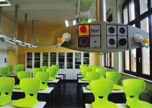 Parkschule Zittau - Fachraum im Altbaubereich