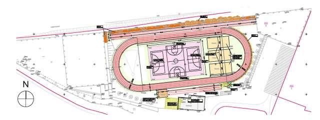 Sport- und Freizeitzentrum Zittau - Plan