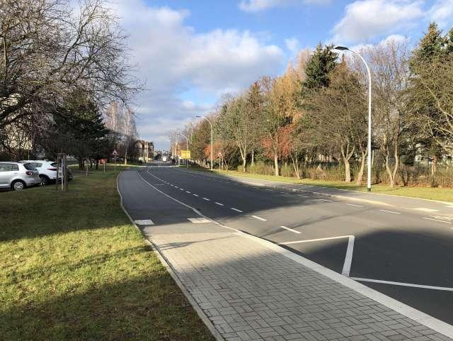 Grundhafter Ausbau Schrammstraße, Zittau - Schramm 4