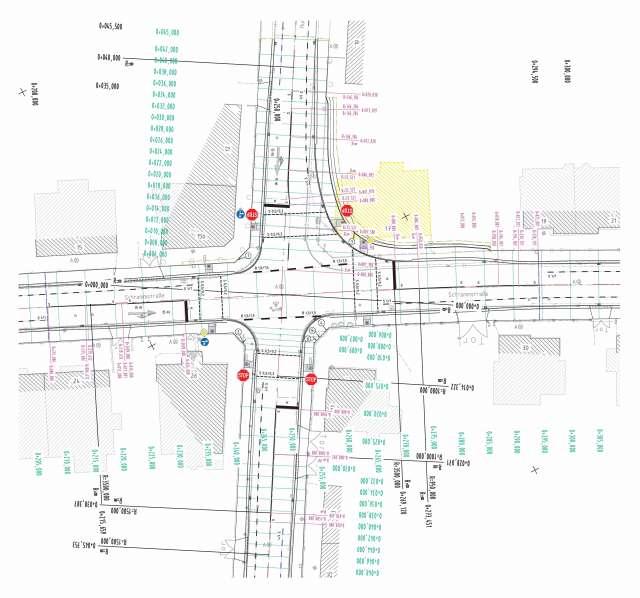 Grundhafter Ausbau Schrammstraße, Zittau - Schramm KP Humboldtstraße